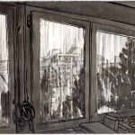 Regen vor dem Fenster, 21.3.20